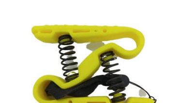 inger Strengthener - Finger Exerciser for Forearm and Hand Strengthener - Hand Grip Workout Equipment for Musician, Rock Climbing and Therapy - Hand Gripper Hand Exerciser Set Finger Grip Kit (Yellow)