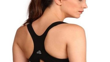 Jockey Women's Bra (1378_Black_M)