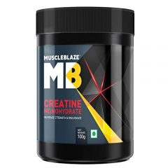 MuscleBlaze Creatine Monohydrate Powder, 100 g
