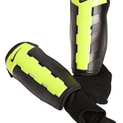 Nike Charge Adult Soccer Shin Guard, Black/Volt