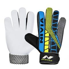Nivia Carbonite Web 896 Latex Goalkeeper Gloves (Multicolour)