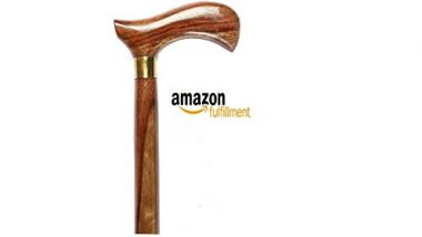 PHYSIQO ® Walking Stick For Men/Women/Old People(36 Inch)(Wooden)