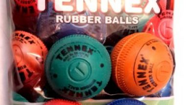 TENNEX T-10022 Rubber Rubber Ball Assorted Colour