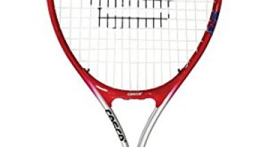 Cosco 23 Tennis Racket Junior Size, Aluminium Racket (23 Inches) Ÿ Cover.
