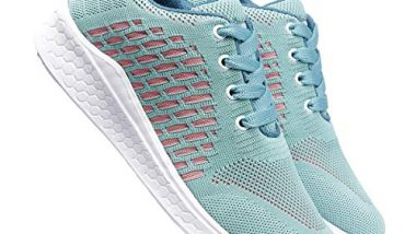 meriggiare® Women Fashion Sneakers Lightweight Sport Gym Jogging Casual Walking Air Cushion Athletic Tennis Running Sports Shoes-Sea Green