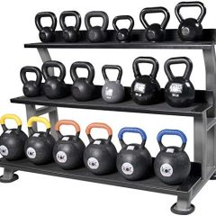 Efit Svaan Kettlebell Rack 3.5ft Height by 4 ft Length