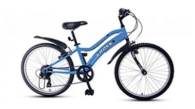Kross Spider 24 Inches Seven Speed Blue