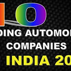 Top 10 Automobile Companies in India