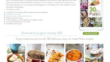 30 Day Paleo Diet Meal Plan | Shopping Lists | Easy Recipes | Primal Palate | Paleo Recipes