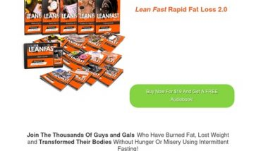 Lean Fast Rapid Fat Loss Intermittent Fasting Program – Rapid Fat Loss Programs 2.0