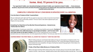 Work-from-Home Freelance Writing Job: How to Make Up to $250+/Day Writing Simple Articles