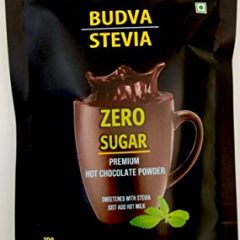 Budva Stevia Hot Chocolate Drink Powder 100g
