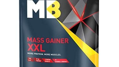MuscleBlaze Mass Gainer XXL (Chocolate, 1 Kg / 2.2 lb)
