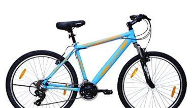 Firefox Bikes Cyclone-V 26T, 21 Speed Mountain Cycle (Matt Blu) I Frame Size : 19.5"