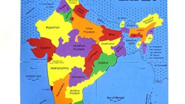 Imagimake Mapology : States of India Map Puzzle - Educational Toy and Learning Aid for Boys and Girls