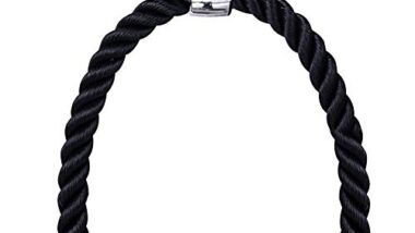 Vencho Perfect Push Pull Down Cord Tricep Rope Multi Gym Bodybuilding Cable