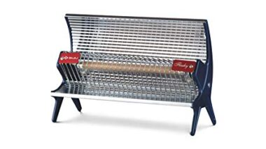 Bajaj Flashy 1000 Watts Radiant Room Heater (Steel)